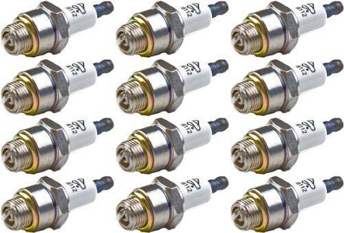 Briggs & Stratton 796112-12pk Spark Plug (12 Pack) Replaces J19LM, RJ19LM, 802592, 5095K by Briggs & Stratton