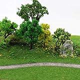 CP135 Artificial Model Grass Mat Trains Yellow