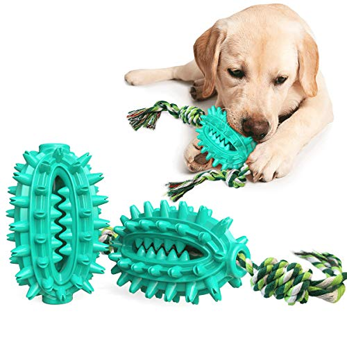 Kauspielzeug Hund für Hunde, Hundespielzeug HundezahnbüRste Hunde Spielzeug Kauspielzeug Naturkautschuk Interaktives…