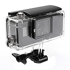 Oumers Gopro Dive Mask Mount, Tempered Glasses Swimming Goggles Mask Mount for Scuba Diving and Snorkeling for all Gopro Models, Sj4000, SJ5000, Xiaomi Yi...Gift Box Included