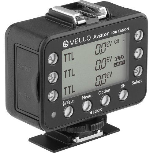 Vello FreeWave Aviator 2-Transceiver Kit for Canon E-TTL / E-TTL II Flashes by Vello