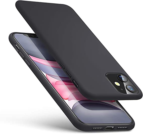 ESR Yippee Color Soft Case for iPhone 11, Liquid Silicone Rubber Case Cover  [Comfortable Grip] [Screen \u0026 Camera Protection] [Velvety,Soft Lining]