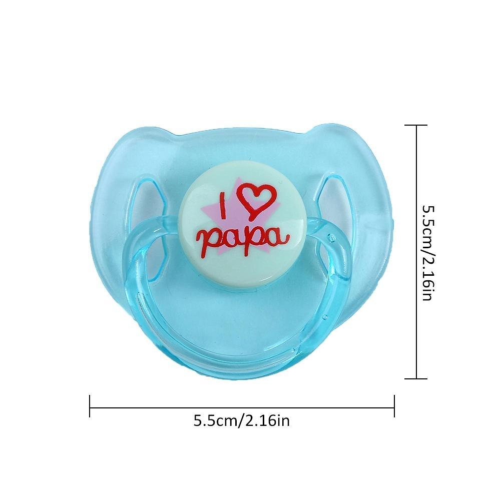 Per Chupetes Magnéticos de Accesorios para Muñecas Bebés Infantiles ...