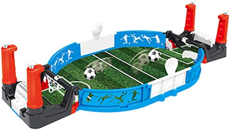 Mini Football Interactive Table Arcade Game-Classic Miniature Desktop Soccer Novelty Game-Portable Football Desktop Sport Game,Training Football Toy with Two Balls and Score Keeper for Kids