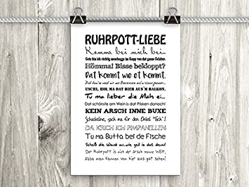 Amazon artissimo Poster mit Spruch Din A4 PE0056 DR