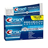 Crest Pro-Health Advanced Extra Deep Clean Toothpaste Twin Pack, 3.5 oz (Pack of 2)