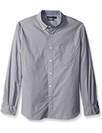 Nautica Men's Classic Fit Stretch Solid Long Sleeve...