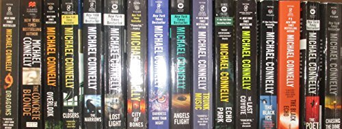Michael Connolly Complete Harry Bosch 21 Novel Series Set (Black Echo The Black Ice Two Great Novels)