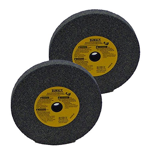 Dewalt DW756 Replacement (2 Pack) 6 inch Bench Grinder Stone 36 grit # 429599-00-2pk
