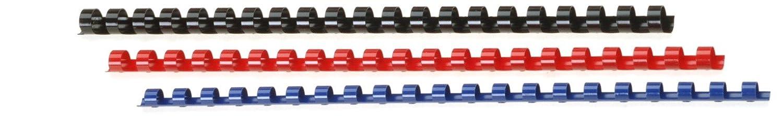 Genie, set di dorsi a spirale per rilegatura (DIN A4) 20 pezzi colori assortiti 11099