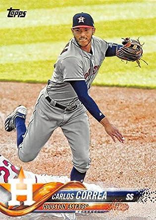 57de721dc Amazon.com: 2018 Topps #30 Carlos Correa Houston Astros Baseball ...