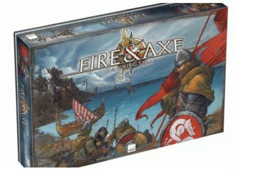 Fire and Axe Boardgame (Trade Axe)