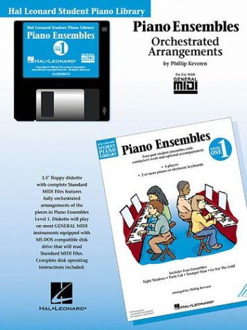 Piano Ensembles Level 1 - GM Disk: Hal Leonard Student Piano Library