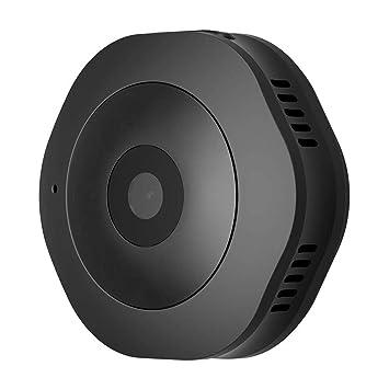 Zzh Mini cámara 1080P pequeñas cámaras inalámbricas HD pequeña niñera con visión Nocturna y detección de Movimiento Interior/Exterior Rodillera la ...