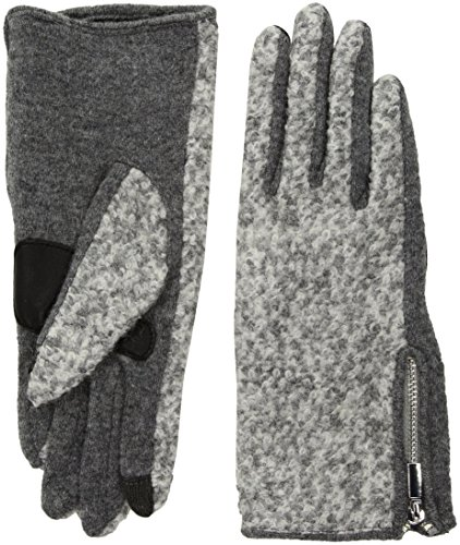 Echo Women's Classic Boucle Glove, heather grey, Small