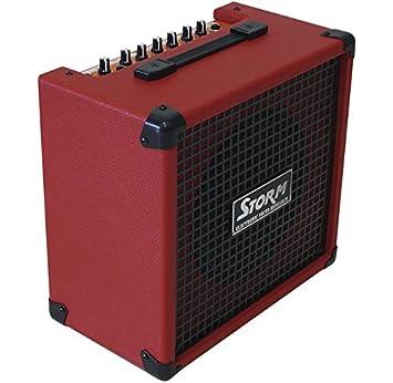 Harley Storm SB20RD Amplificador de Bajo Rojo