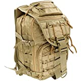 Tactical Backpack, Bukm 40L Water-resistant Outdoor Tactical Shoulder Hiking Daypack Military  amp;