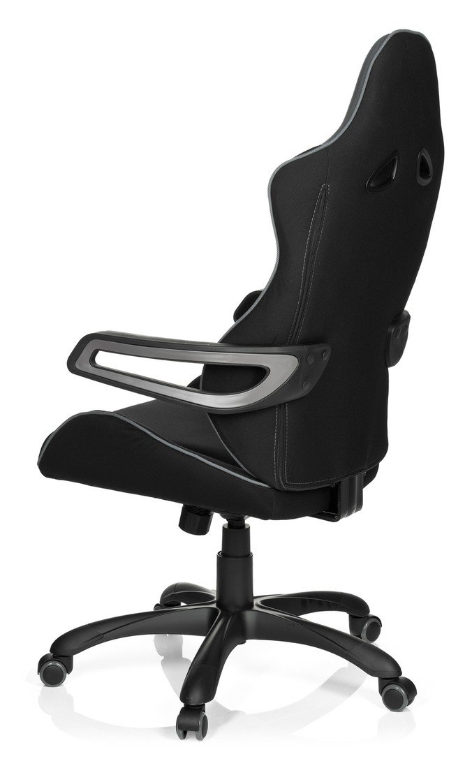 Ii Gaming Office 621840 Hjh Racer Stuhl Stoff Schwarzblau Pro xodCerB