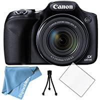 Canon PowerShot SX530 with LCD Screen Protector, Lens Cleaning Kit and More