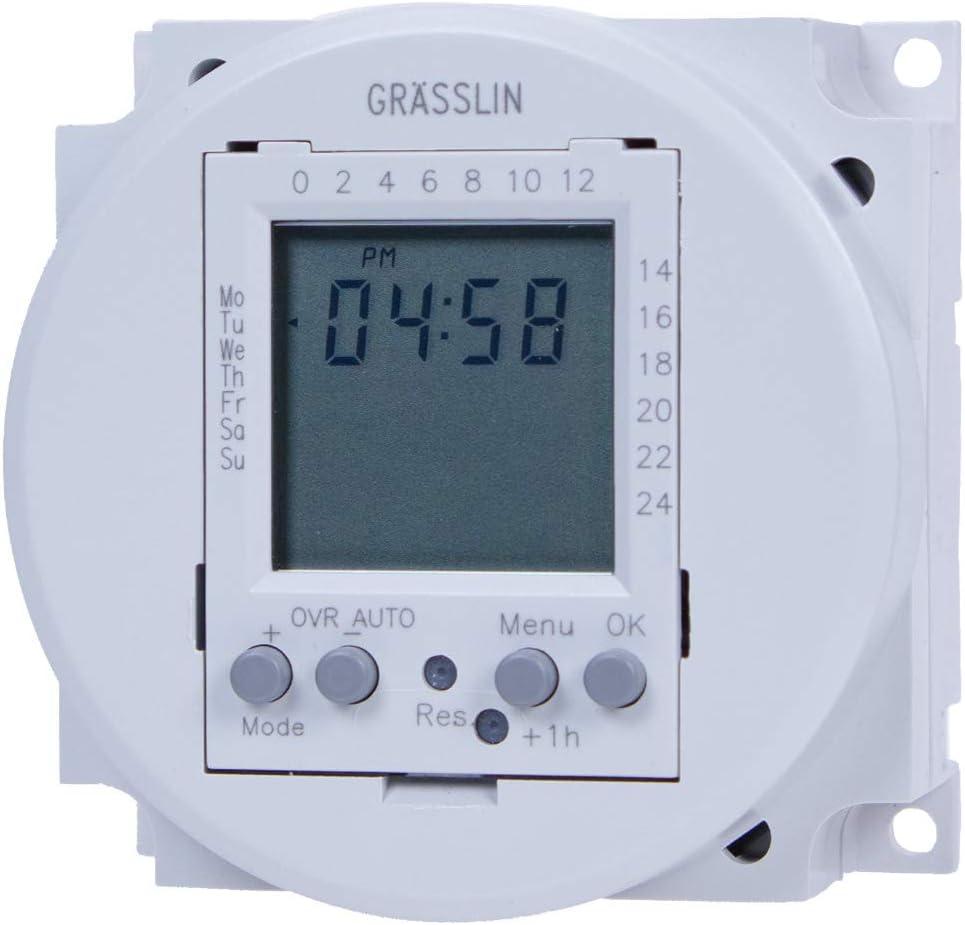 SPDT 24V Electromechanical Timer Module Grasslin by Intermatic ...