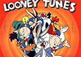 1 piece Looney Tunes Poster Clear Image Wall Stickers Home Decoration Good Quality Prints White Coated Paper home art Brand
