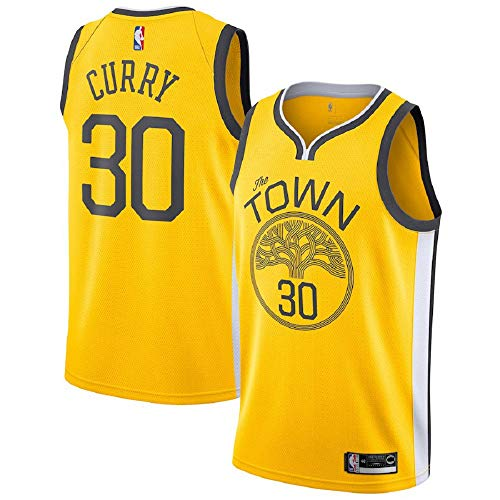 88e3a9475fa Stephen Curry #30 Golden State Warriors 2018-19 Swingman Men's Jersey Yello.