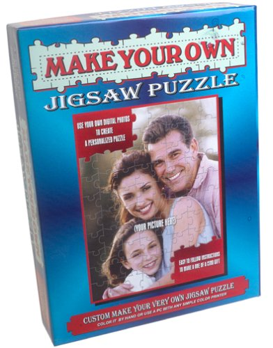 Make Your Own Jigsaw Puzzle Kit -