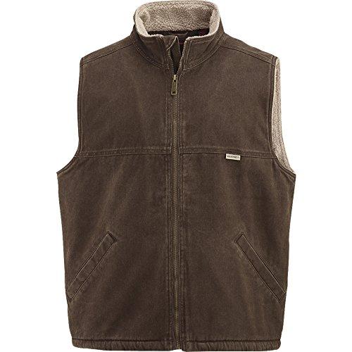 Wolverine Men's Upland Sherpa Lined Vest, Bison, Medium