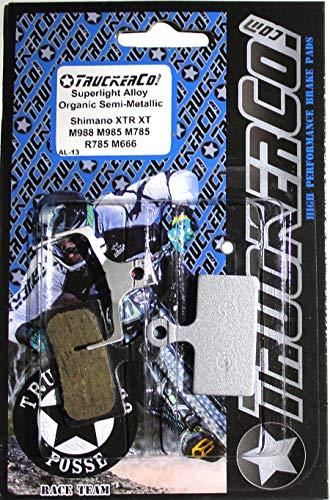 Superlight Alloy Organic Semi-Metallic brake pads Shimano 2011-2020 XTR XT SLX deore M9020 trail M9000 M987 M985 M988 M785 RS785 R785 S700 RS685 M675 M666 M615 M610 CX F01A F03C G01A G03C G03s FSA