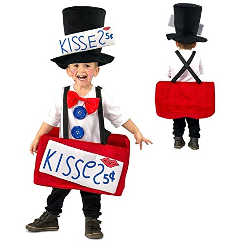 Princess Paradise Kissing Booth Costume, 12 Months -