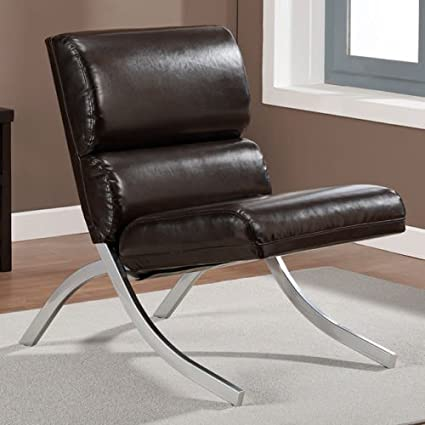 Beau Rialto Brown Bonded Leather Chair
