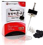 Smokeless Mini Disc Moxa for Warm Moxa Device Therapy (Moxa Disc + Spring Cap Device)