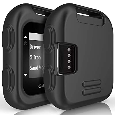 TUSITA Case for Garmin Approach G10 - Silicone Protective Cover - Handheld Golf GPS Accessories (Black)