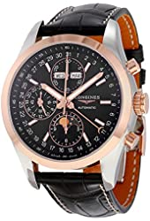 Longines Conquest Black Dial Chronograph Automatic Mens Watch L27985523