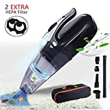 JOYY LED Light Handheld Vacuum Cleaner Rechargeable Hand Vacuum...