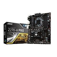 MSI Z270-A PRO SDRAM Motherboards