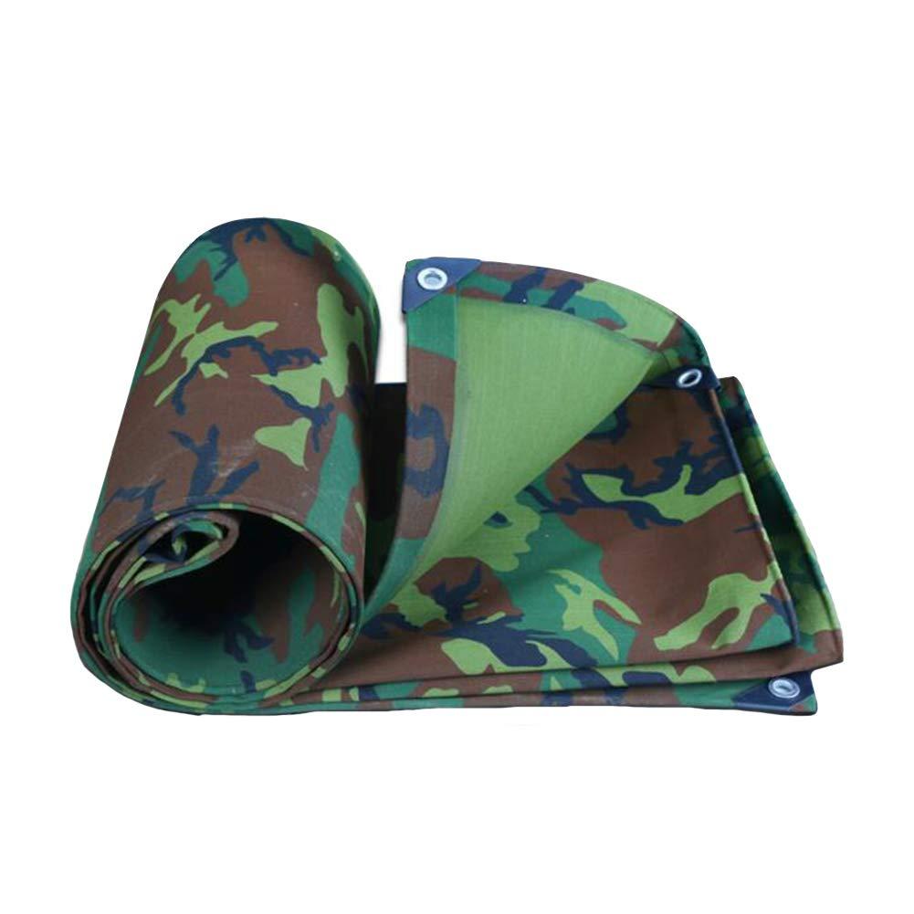 DALL ターポリン タープ 防水 迷彩 不凍液 防雨布 防湿性 耐性 (色 : Green, サイズ さいず : 5*7m) 5*7m Green B07KRVS1VF