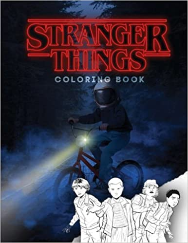 Stranger things: coloring book, activity book for children and ...