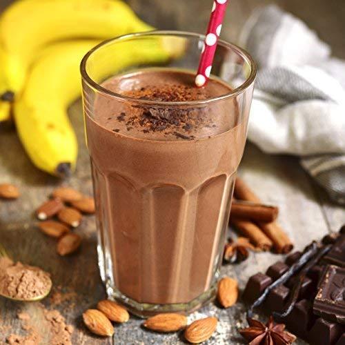 nu3 - Vegan Protein 4K Shake Choco Macchiato 400 g | Batido de Proteínas Orgánico en Polvo Prémium a Partir de 4 Componentes Vegetales | 48% de Proteína y ...