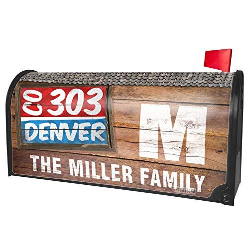NEONBLOND Custom Mailbox Cover 303 Denver, CO