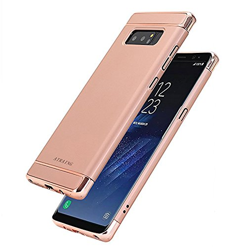 ATRAING Galaxy note8 case,A Trading Shockproof Thin Hard Case Cover for Galaxy note8 (Rose Gold)