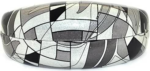 Hard Clamshell Case for Large and Oversized Eyeglasses Sunglasses - Many Colors