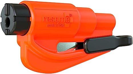 Resqme GBO-RQM-ORANGE Das Rettungswerkzeug als Schl/üsselanh/änger 1er-Set Orange