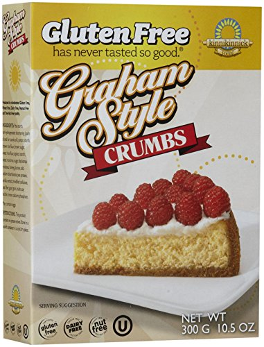 - Kinnikinnick Graham Style Crumbs, 10.5 oz