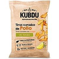 Kubdu KUBDU Mediterranean Biltong Tiras Curadas de Pollo