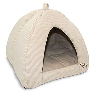Amazon.com : Best Pet Supplies Corduroy Tent Bed for Pets