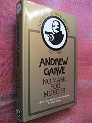 book cover of No Mask for Murder