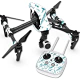 Skin For DJI Inspire 1 Quadcopter Drone – Teal Lures | MightySkins Protective, Durable, and Unique Vinyl Decal wrap cover | Easy To Apply, Remove, and Change Styles | Made in the USA