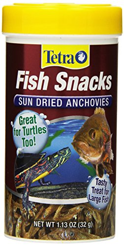 Tetra 77026 Fish Snacks Sun Dried Anchovies, 1.13-Ounce