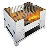 Esbit Portable Folding Charcoal BBQ Grill with